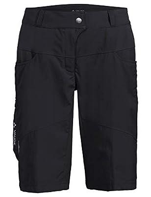 Vaude Damen Hose Women's Qimsa Shorts, Black, 46, 41923