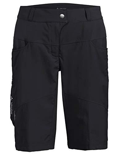 Vaude Damen Hose Women's Qimsa Shorts, Black, 40, 41923