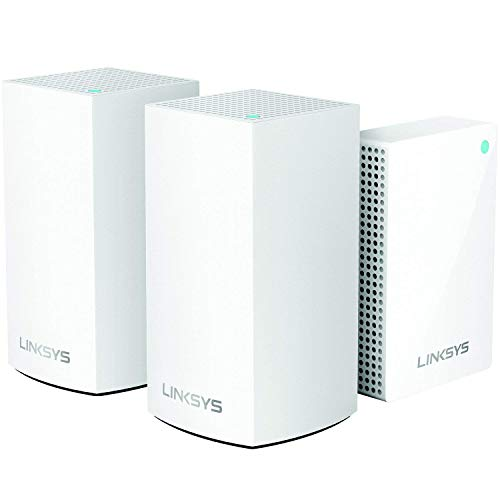 Velop Intelligent Mesh WiFi System, 1 Plug-in + 2 Dual-Band AC3600 Nodes