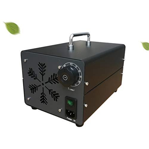 Steeler 5000 MG/h Generador de ozono casero Temporizador portátil Purificador de Aire Comercial O3 Resistente a Desodorante de formaldehído