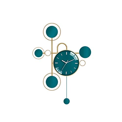 Reloj de pared decorativo Reloje de pared modernon Vida sencilla habitación moderno reloj de pared de la personalidad creativa carta de reloj decorativo pared del arte Reloj Decorativo Relojes fáciles