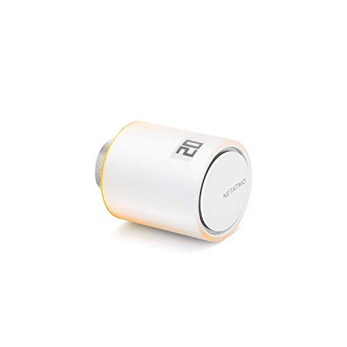 Netatmo thermostaatventiel, wifi, intelligente extra module voor de intelligente thermostaat en voor het pakket van collectieve verwarming, NAV-ES