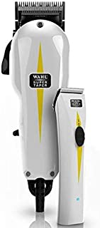 Wahl Professional Corded Super Taper & Super Trimmer White Combo Pack