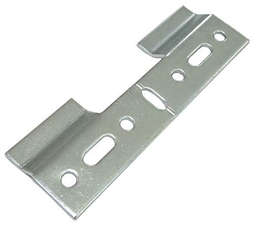AERZETIX: 10x Placa Trasera de fijación para Colgar armarios Muebles de Pared 102/33.5mm C41529