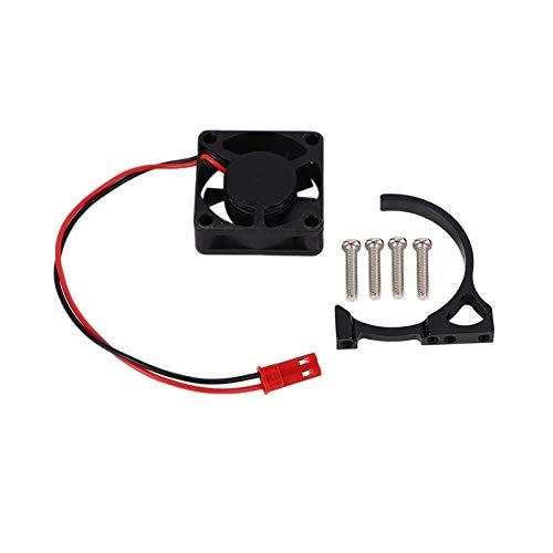 JAP768 5V 30x30mm Ventilador de refrigeración del radiador del Motor 540/550 Accesorio for Bricolaje Coche teledirigido/Barco Modelo Negro (Color : Negro)