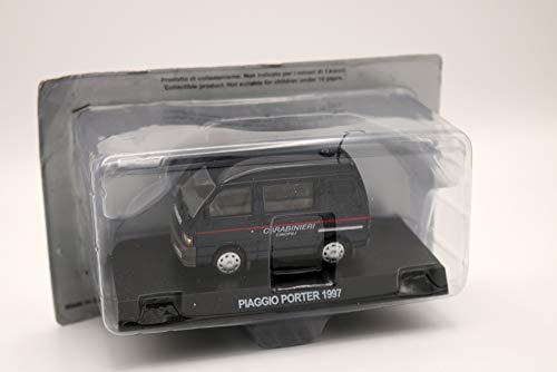 Die Cast Modelo de coche Carabinieri Piaggio Porter 1997 - escala 1:43 - azul