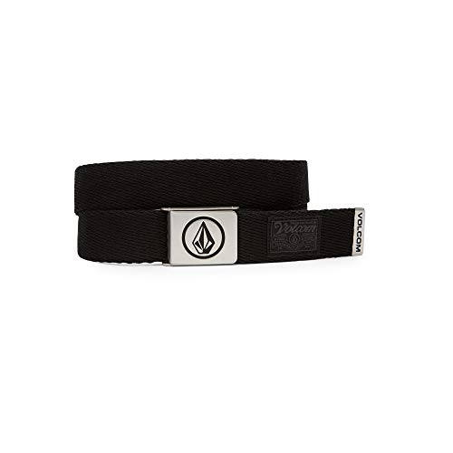 Volcom Circle Web Waist, Man, Black (Stoney Black), O / S
