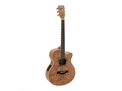 DIMAVERY SP-100 Western Gitarre Natur