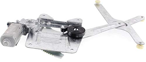 Window Regulator Compatible with 1994-2004 Chevrolet S10 & GMC Sonoma Power With Motor Front, Passenger Side