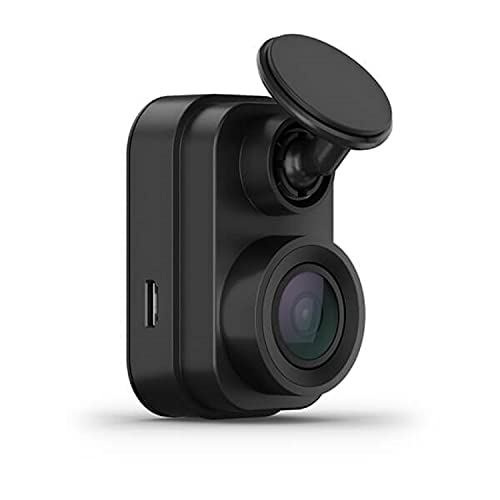 Garmin Dash Cam Mini 2, 1080p angolo 140 gradi, controllo vocale, sorveglia l'auto in sosta, salvataggio in cloud