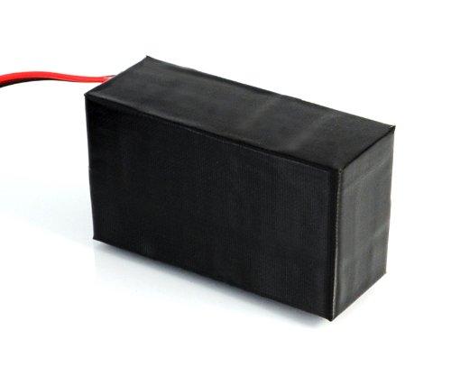 Incutex Hochleistungsakku, Ladegerät, Akku Pack, externes Batteriefach, Power Pack, Externer Akku für GPS Tracker TK102 V3/V6, TK104 und TK5000 (bis Okt. 2014), 13.600mAh Achtung GOLDKONTAKT!!!
