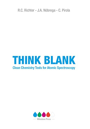 Think Blank: Clean Chemistry Tools for Atomic Spectroscopy (English Edition)