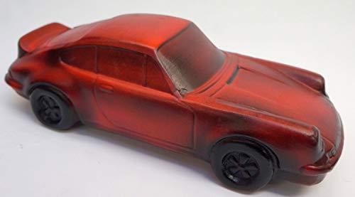 Bar-weg Sparschwein (03) Spardose Auto Porsche Rot/Braun