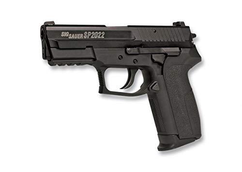 cuchilleria deportiva ALBAINOX - 38254. Pistola de Airsoft Modelo Sig Sauer SP2022. Sistema Co2. Metal. Energia de 0,9 Julios. Bolas PVC