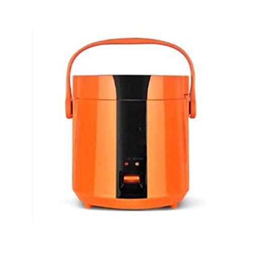Kleine Elektroherd, Hot Pot mit Stahl Gesunde Inner Topf leicht zu reinigen Heizung Beweglicher Hauptküchengerät (Farbe: Orange) (Farbe: blau) lalay (Color : Orange)