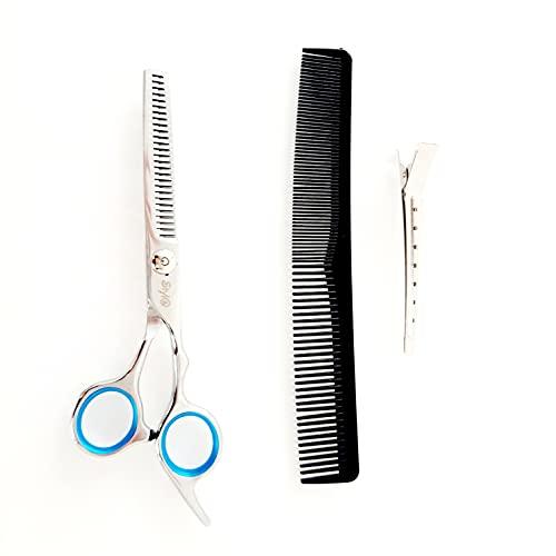 Styl@ Uitdunschaar - Kappersschaar - Effileerschaar - Coupeschaar - 6 inch Haar schaar - Rechtshandig - GRATIS Kam en haarclip