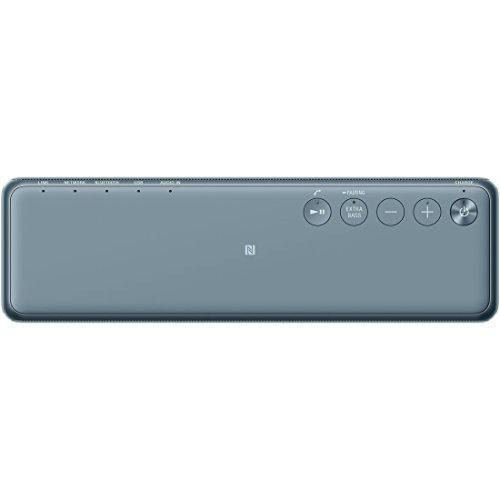 ソニーワイヤレスポータブルスピーカーSRS-HG10:Bluetooth/Wi-Fi/LDAC/ハイレゾ/専用スマホアプリ対応2018年モデル/マイク付き/ムーンリットブルーSRS-HG10L