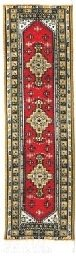 Oriental Carpet Bookmarks Red Tashkent - Authentic Woven Carpet - RUG BOOKMARKS - Beautiful, Elegant, Woven Cloth Bookmarks! Best Gifts for Men Women Adults Teens Teachers & Librarians!