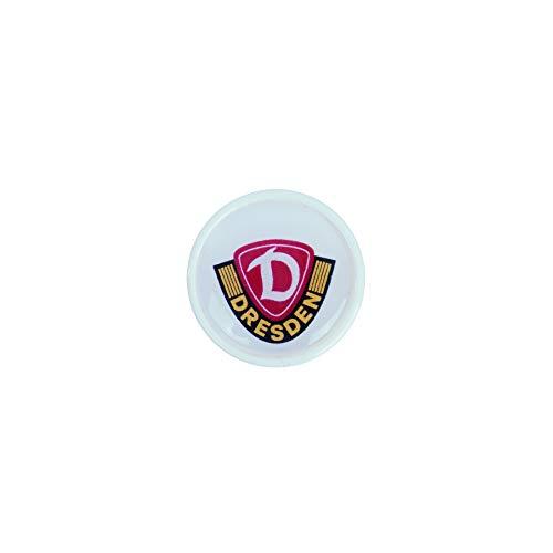 SG Dynamo Dresden Ear Plug Dynamo weiß/weiß, Größe:16 mm