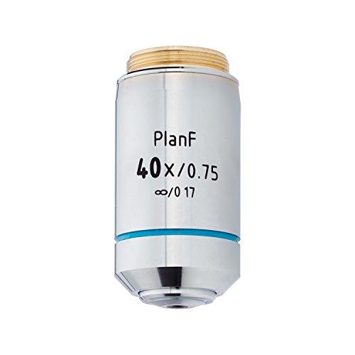 AmScope 40X Infinity-Corrected Plan Fluor Objective Lens