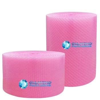 Diamond Packaging - Rollo de papel de burbujas antiestático (500 mm x 100 m), color rosa Ideal para proporcionar protección física en tránsito por electrostática envío rápido