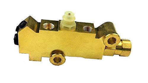 Tasan Racing Aluminum Screw Type Brake Proportioning Valve Adjustable Prop Brake Bias for Racing Car Silver