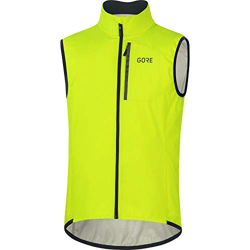 GORE WEAR Herren Fahrrad-Weste Spirit, GORE-TEX INFINIUM, XXL, Neon-Gelb