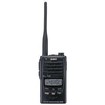 ALINCO アマチュア無線機 430MHz ハンディタイプ DJ‐S42
