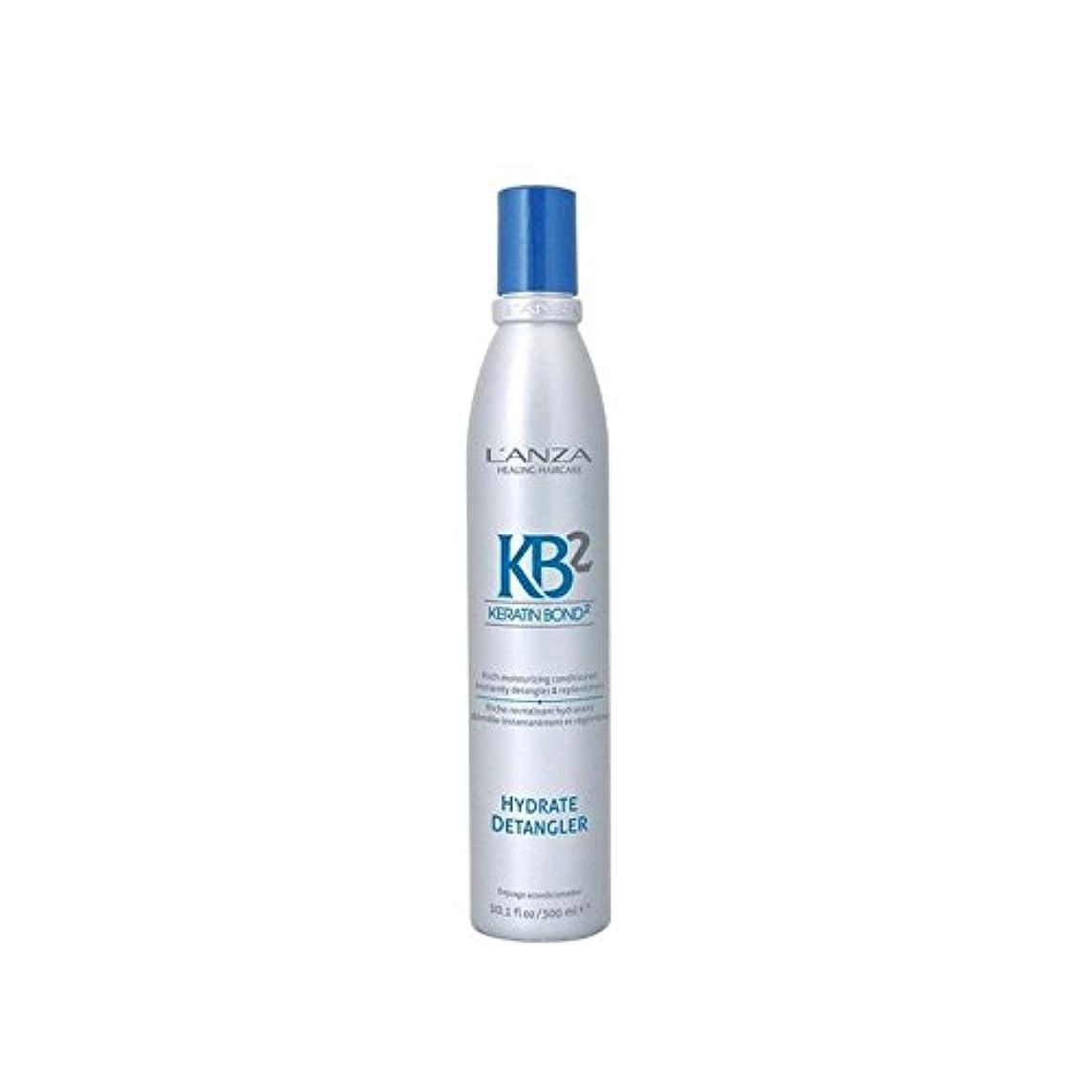 パック持続的道を作るアンザ2和物(300ミリリットル) x2 - L'Anza Kb2 Hydrate Detangler (300ml) (Pack of 2) [並行輸入品]