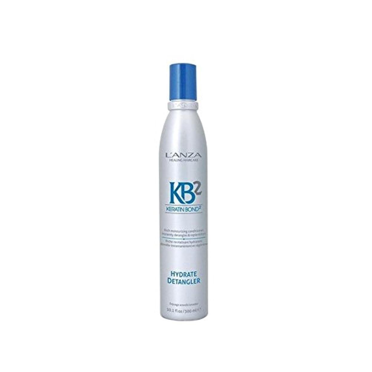 印象的ささいな配偶者アンザ2和物(300ミリリットル) x4 - L'Anza Kb2 Hydrate Detangler (300ml) (Pack of 4) [並行輸入品]