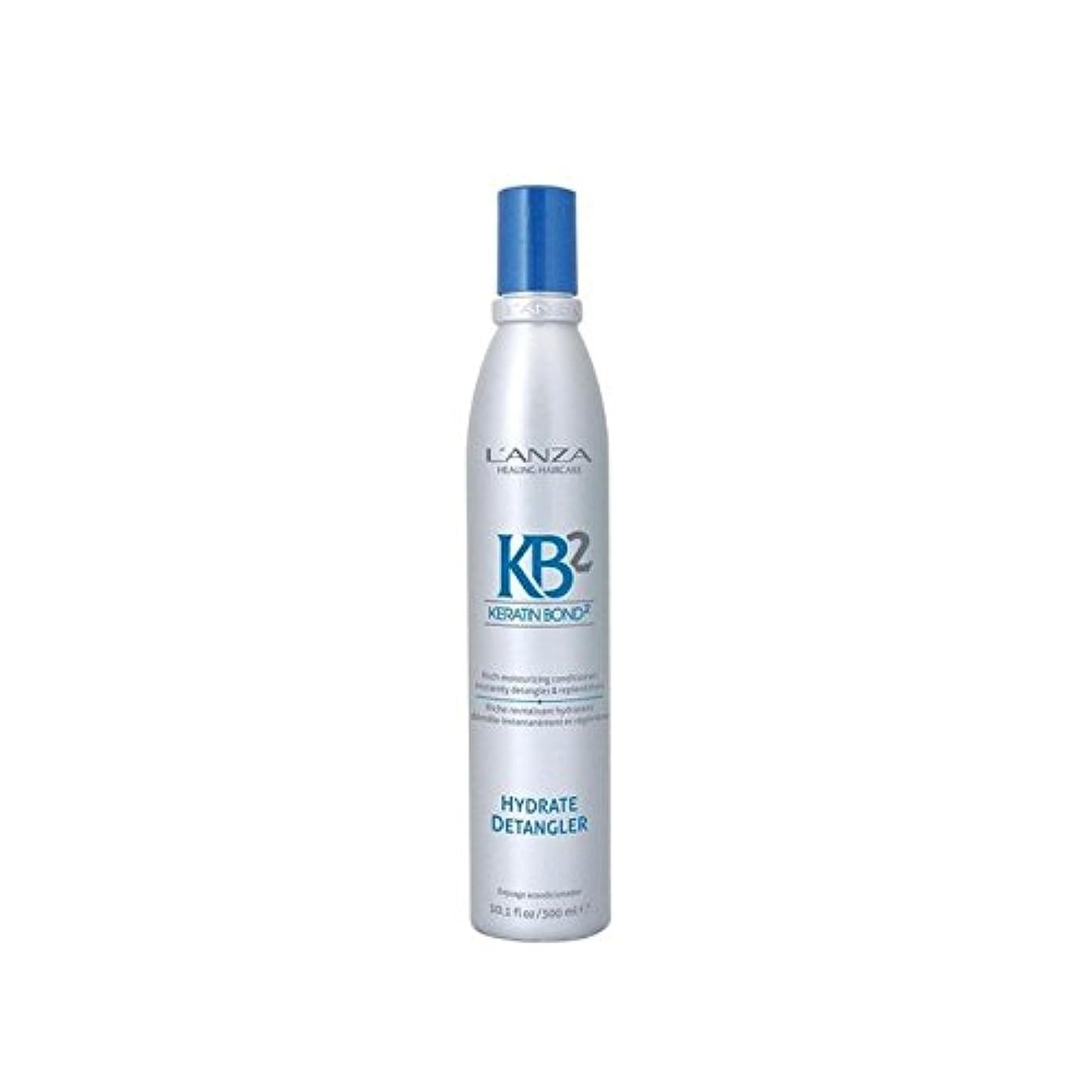 見捨てられた疲労西L'Anza Kb2 Hydrate Detangler (300ml) - アンザ2和物(300ミリリットル) [並行輸入品]