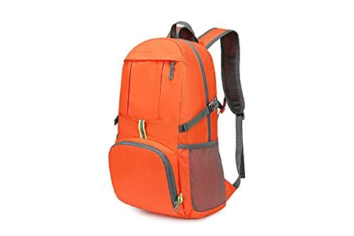 登山 リュック バックパック 防水 折畳み リュックサック 35L 大容量 超軽量 アウトドア旅行バッグ 多機能 買い物 防災 遠足 撥水 男女兼用 ハイキング