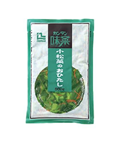 【冷凍】 ノースイ カンタン味菜 小松菜のおひたし 500g 業務用 おかず 惣菜