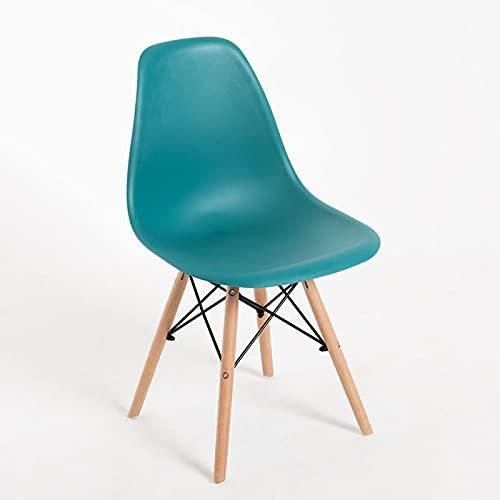 Regalos Miguel - Sillas Comedor - Silla Tower Basic - Verde Azulado - Envío Desde España