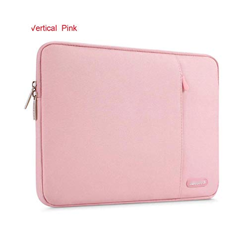 Double-sweet Laptop Sleeve Bag for 2020 MacBook Air Pro 13 15 16 Touch bar Notebook Sleeve Cover 11 12 13 14 15inch for Dell/HP/Acer-Vertical Pink-Mac Pro16 inch A2141