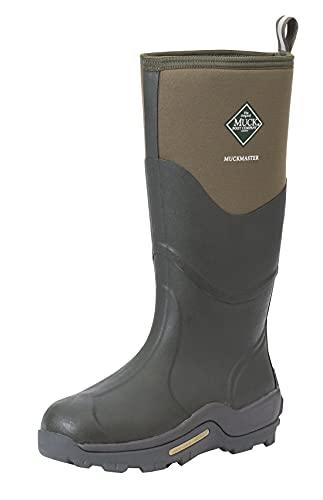 Muck Boots Unisex Muckmaster High Rain Boot, Brown (Moss/Moss), 9 UK