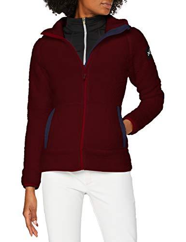 MILLET Fiz Sherpa Sheep Hdie W Fleece Jacket, Womens, Tibetan Red, XL
