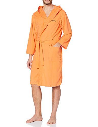 Ferrino Sport Thermae Robe de Chambre Homme, Orange, S/M