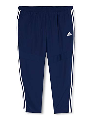 adidas Herren TIRO19 WOV PNT Sport Trousers, Dark Blue/White, L