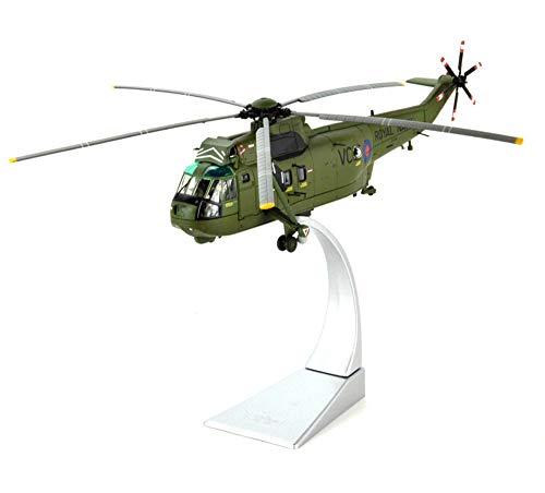 EP-Toy 1/72 Scala Mare Militare Re HC.MK 4 Elicottero USAF Alloy Model, Adulto Regalo E da Collezione, 9,5 inch X 9.8Inch