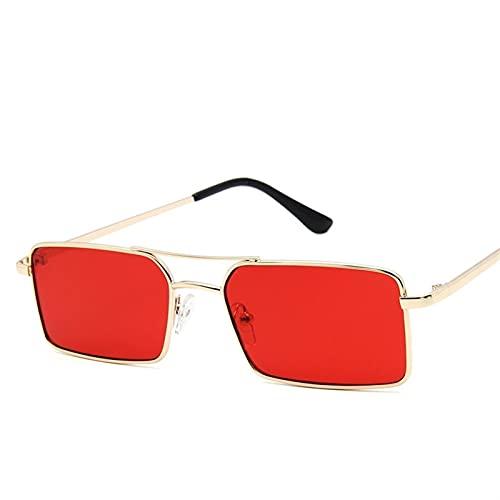 2021 Clásicos Retro Gafas De Sol Damas Gafas Dama Lujoso Steampunk Metal Sombrilla Gafas Retro Espejo Oculos De Sol Feminino UV400 (Lenses Color : C5)