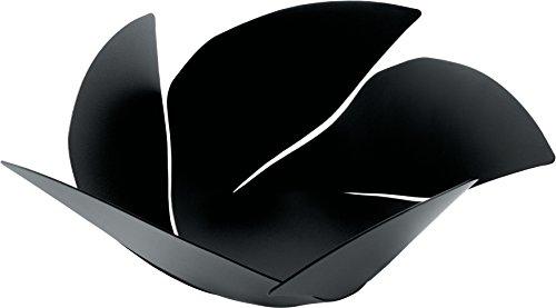 Alessi Twist Again OD02/29 B - Design Obstschale, aus Edelstahl, Epoxidharzlackiert, schwarz