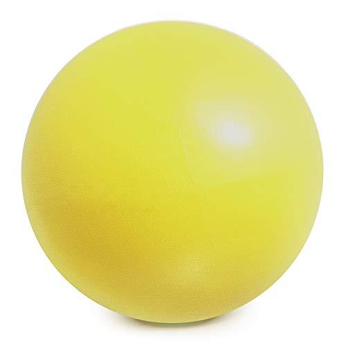 Yorten - Pelota de yoga (25 cm, antiexplosiones), diseño de pelota de pilates y barra de estabilidad, incluye tubo inflado