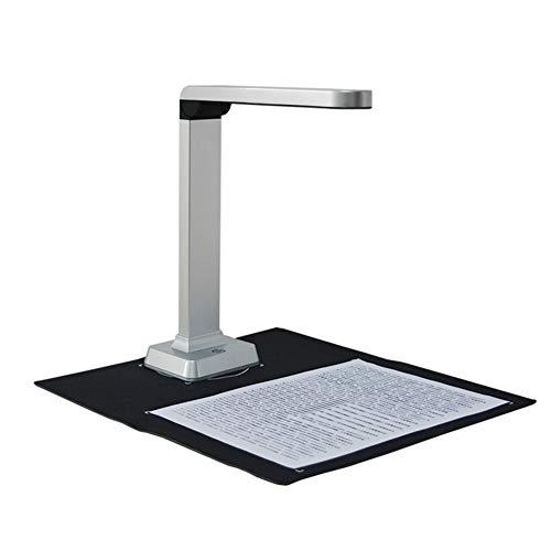 DishyKooker - Escáner de documentos H500 de 5 Mpx, carga USB, A4, A5, A6, A7, captura de tamaño, reconocimiento rápido, productos de oficina