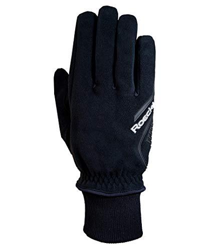 Roeckl Rebollin–Guantes de Ciclismo para Invierno, Color Negro, Color - Negro, tamaño...
