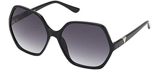Guess Gafas de Sol GU7747 Shiny Black/Grey Shaded 62/16/135 mujer