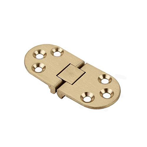 DAHDXD Copper Semi-Circular Engrosamiento Bisagra Plegable Encimera De Bisagra De 180 Grados...