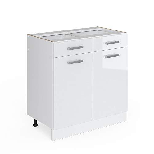 Vicco Küchenschrank R-Line Küchenzeile Hängeschrank Unterschrank Küchenschränke...