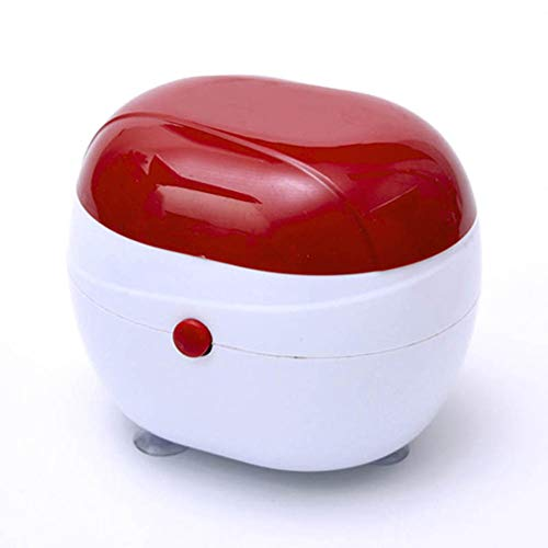 LYHD Ultraschallreiniger, Mini-Schmuckreiniger, Multifunktionaler Reiniger, Geeignet für Eine Vielzahl Von Anwendungen in Schmuckgläsern, Uhren, Ringen, Münzen, Zahnersatz