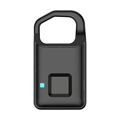 KTYX Fingerprint Padlock, Smart Electronic Lock, Anti-theft Password Lock, Dormitory Gym Cabinet Small Lock